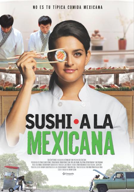 poster sushi a la mexicana